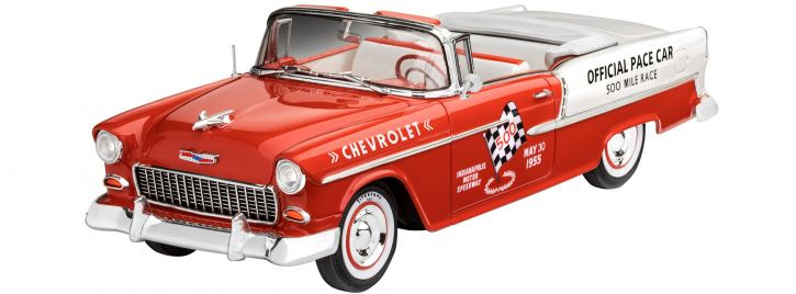 Revell 07686 1955 Chevy Indy Pace Car | Auto Bausatz 1:25
