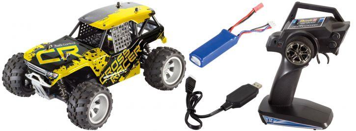 ausverkauft | Revell 24467 Cross Racer RC-Buggy | 2.4GHz | RTR | 4WD | 1:18