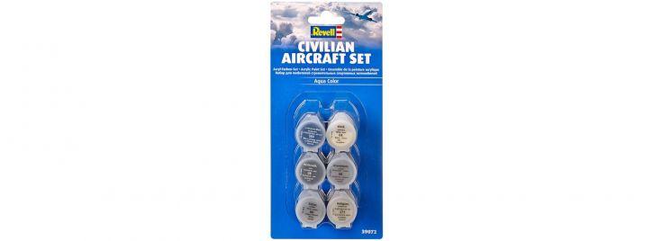 Revell 39072 Farben Set Zivilflugzeuge Aqua Color