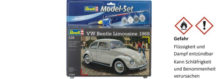 Revell 67083 Model Set VW Beetle Limousine 1968 | Auto Bausatz 1:24