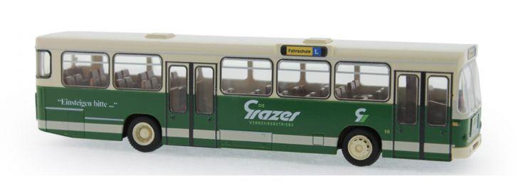RIETZE 72347 MAN SL200 Grazer Verkehrsbetriebe Fahrschule Busmodell 1:87