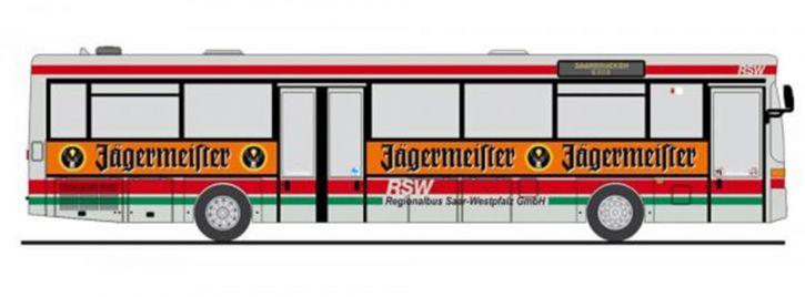 RIETZE 77319 O 407 RSW Saarbrücken-Jägermeister | BUS-Miniatur 1:87