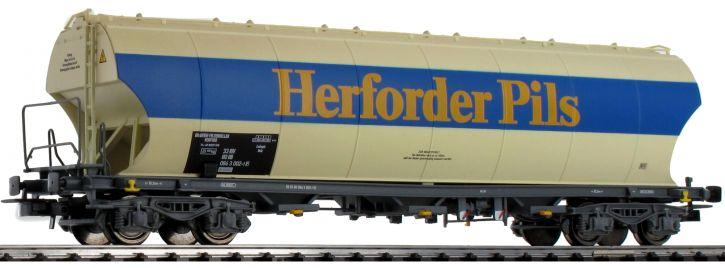 Rivarossi HR6399 Silowagen Herforder Pils DB AG | DC | Spur H0