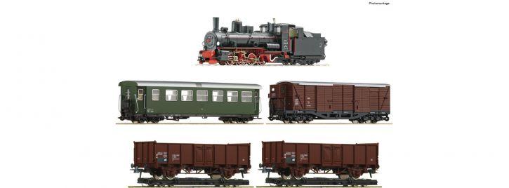 Roco 31032 Zugset Dampflokomotive 399.06 mit GmP   DCC   5-teilig   Spur H0e