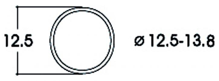Roco 40066 Haftringsatz | Gleichstrom | 12,5-13,8mm | 10 Stück | Spur H0
