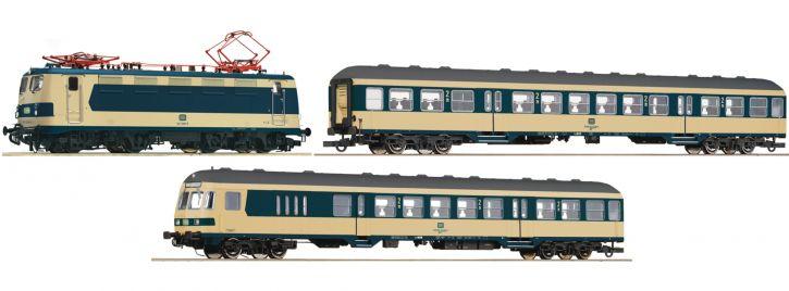 Roco 61485 Zugset BR 141 Karlsruher Zug DB | AC Sound | Spur H0