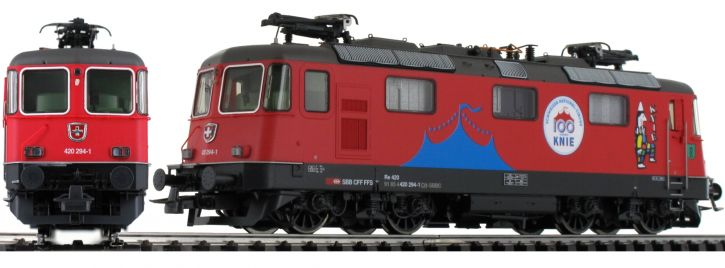 Roco 71402 E-Lok Re 420 Circus Knie SBB | DCC-Sound | Spur H0