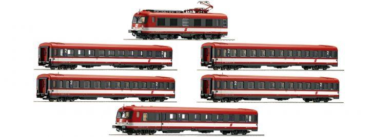 Roco 73058 6-tlg. E-Triebzug Rh 4010 ÖBB   DC analog   Spur H0