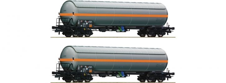 Roco 76073 2-tlg. Set Druckgaskesselwagen NACCO | DC | Spur H0
