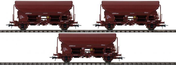 Roco 76177 3-tlg. Set Schwenkdachwagen Tds der ZSSK   Spur H0