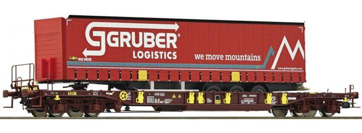 Roco 76231 Taschenwagen T3 Sdgmns 33 AAE | Spur H0