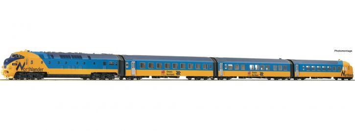 Roco 72067 Dieseltriebzug Northlander ONTC   DCC Sound   Spur H0