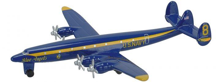 Schuco 403551655 U.S. Navy Lockheed L1049G | Blue Angels | Flugzeugmodell 1:600