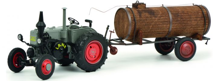Schuco 450769400 Lanz Bulldog mit Güllefass | Landwirtschaftsmodell 1:32