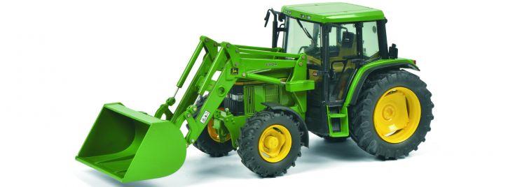 Schuco 450773300 John Deere 6300 mit Frontlader | Traktormodell 1:32
