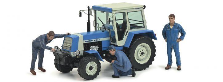 Schuco 450782600 Fortschritt ZT 323 + 3 Figuren | Traktor-Modell 1:32