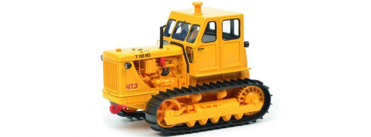 Schuco 450905700 Kettentraktor T100 M3 gelb | Landwirtschaftsmodell 1:32