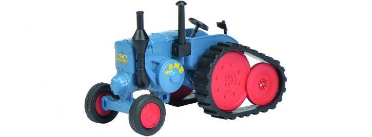Schuco 452629800 Lanz Bulldog mit Ansteckraupe | Landwirtschaftsmodell 1:87