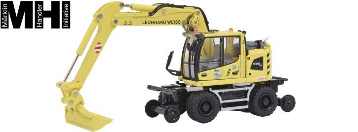 Schuco 452646900 Liebherr A922 Rail | Leonhard Weiss | MHI | Baumaschinen-Modell 1:87
