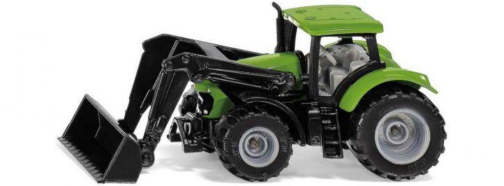 siku 1394 Deutz-Fahr mit Frontlader   Landwirtschaftsmodell