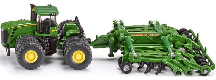 siku 1856 John Deere 9630 mit Amazone Centaur | Traktormodell 1:87