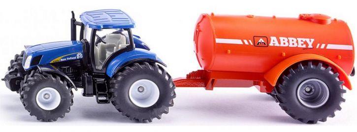 siku 1945 New Holland Ein-Achs-Güllefass | Traktormodell 1:50