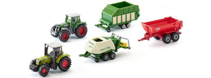 siku 6286 Geschenk-Set 5-teilig Landwirtschaft   Agrarmodell