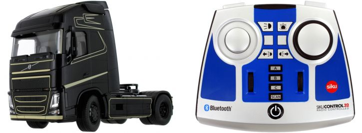 Siku 6737 Volvo FH16 mit Bluetooth App- und Fernsteuermodul | 1:32 | RC-LKW