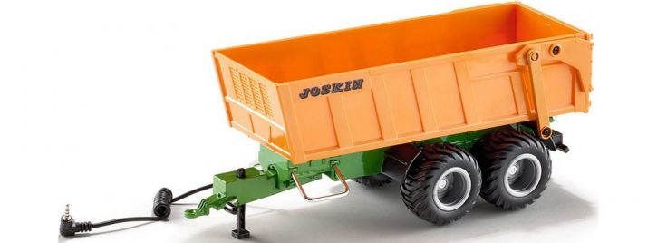SIKU 6780 RC Tandem-Achs-Anhänger | für  Siku RC Traktoren