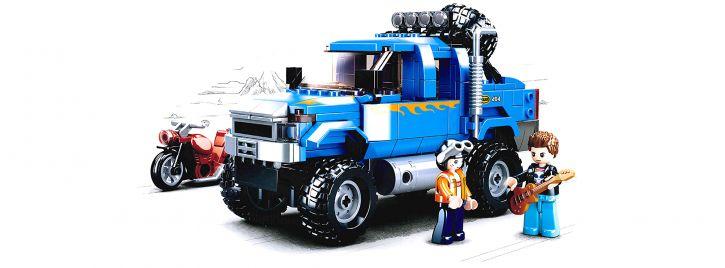 Sluban M38-B0813 Monster Truck | Auto Baukasten