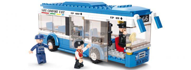 Sluban M38-B0330 Bus | Fahrzeug Baukasten