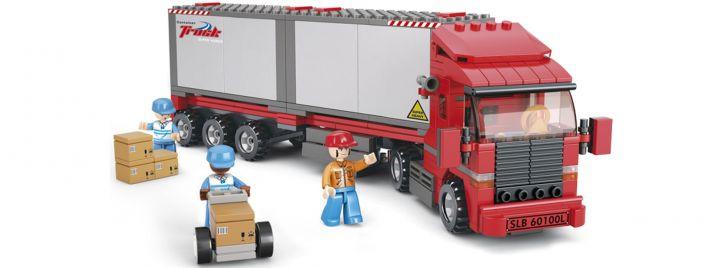 Sluban M38-B0338 Container LKW | Fahrzeug Baukasten