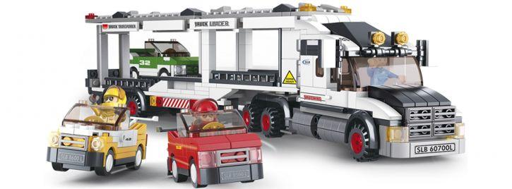 Sluban M38-B0339 Autotransporter   LKW Baukasten