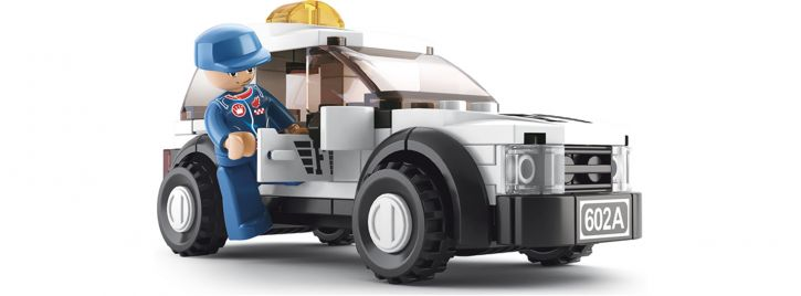 Sluban M38-B0350 Safety Car   Auto Baukasten