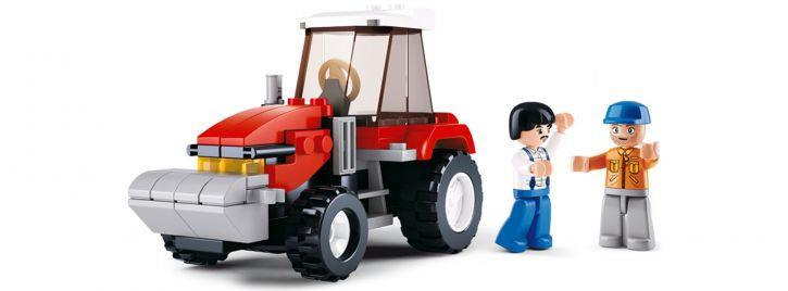 Sluban M38-B0556 Traktor | Fahrzeug Baukasten