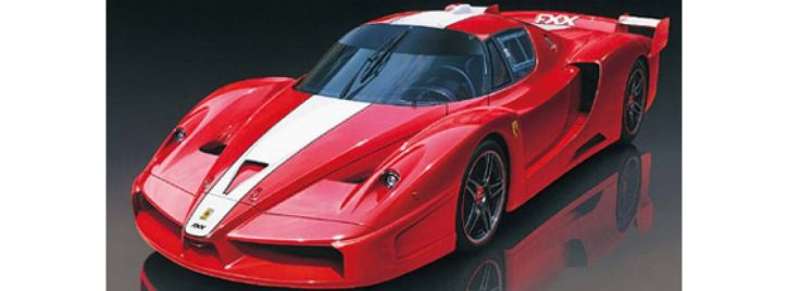 ausverkauft   TAMIYA 24292 Ferrari FXX 2005 Race   Auto Bausatz 1:24