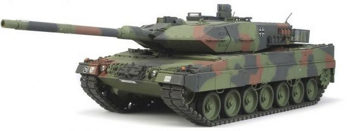 TAMIYA 56020 Panzer Leopard 2A6 Full Option Bausatz 1:16