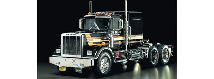 TAMIYA 56336 King Hauler Black Edition 3-Achser RC Truck Bausatz 1:14