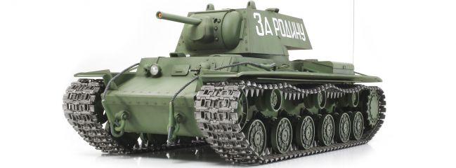 TAMIYA 56028 KV-1 russischer Panzer Full Option Bausatz 1:16