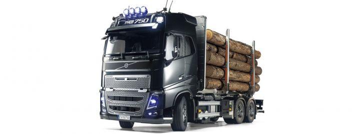 TAMIYA 56360 Volvo FH16 Holztransporter | RC LKW Bausatz 1:14