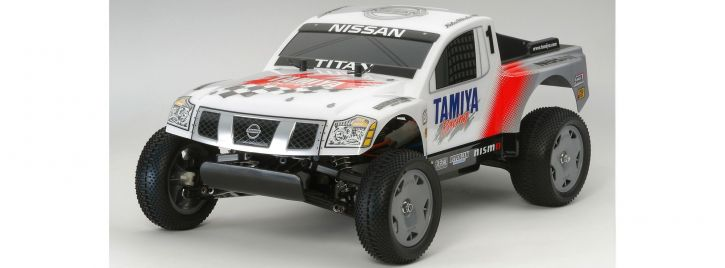 TAMIYA 58511 Nissan Titan Racing Truck 2WD Offroad DT-02 RC Auto Bausatz 1:12