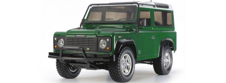 TAMIYA 58657 Land Rover Defender 90 CC-01 | RC Auto Bausatz 1:10