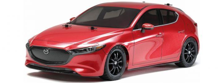 TAMIYA 58671 Mazda 3 TT-02 Chassis | RC Auto Bausatz 1:10