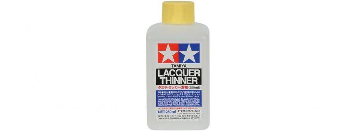 TAMIYA 87077 Lacquer Verdünner für X und XF Farben 250 ml