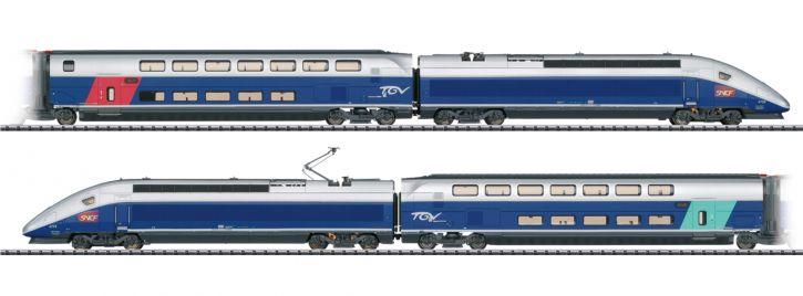 TRIX 22381 Hochgeschwindigkeitszug TGV Euroduplex SNCF | DCC/mfx Sound | Spur H0
