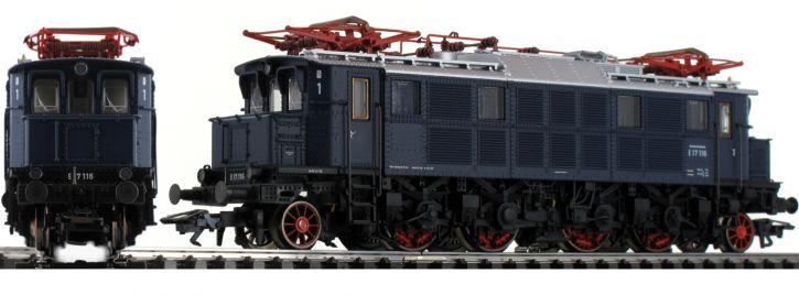 TRIX 22496 E-Lok BR E17 stahlblau DB   Messelok 2019   mfx/DCC Sound   H0
