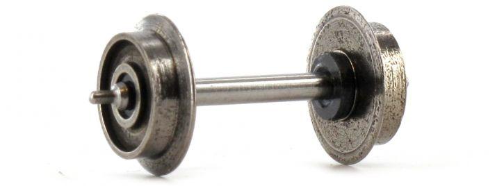 TRIX 66653 Radsatz 9mm Metall DC | 1 Stück | Spur H0
