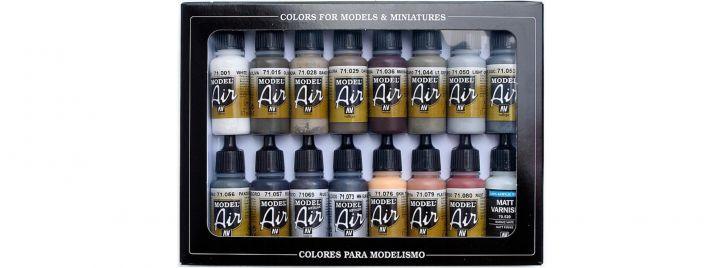 VALLEJO 771194 Farbset Alterungs-Set | 16x17 ml