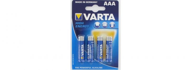 Varta 4903 Micro (AAA) High Energy (4)