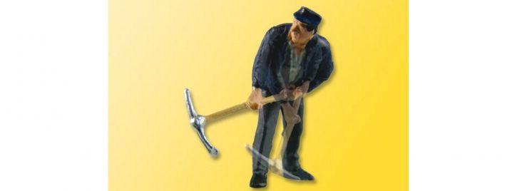 Viessmann 1527 Landarbeiter mit Kreuzhacke bewegte Figur Fertigmodell Spur H0